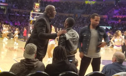 Magic Johnson Meets With LeBron's Agent During Cavs-Lakers Game
