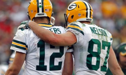 Aaron Rodgers Likes a Tweet Taking a Shot at Jimmy Graham and Praising Jordy Nelson