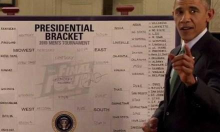 Check Out Barack Obama's March Madness Bracket