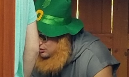 Gronk Crashed an NFL Writer's Bachelor Party Dressed as a Leprechaun
