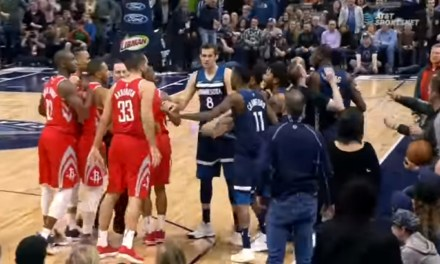 Tempers Flare in Minnesota after Chris Paul was Shoved to the Floor