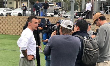 Johnny Manziel Threw at San Diego's Pro Day with 12 NFL Teams in Attendance