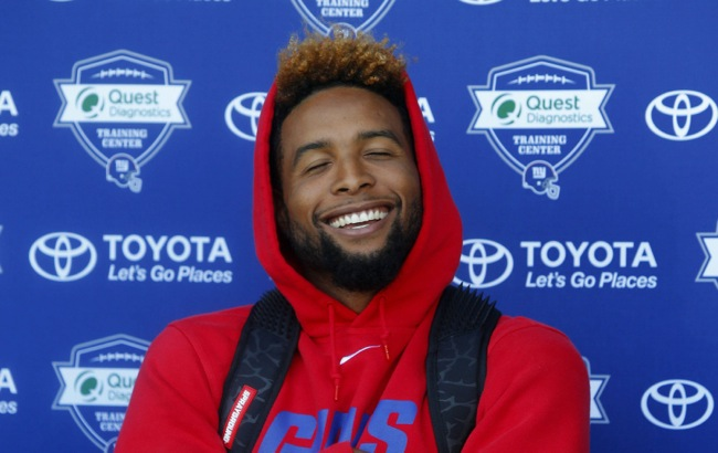 The Giants Are Open To Trading Odell Beckham Jr.
