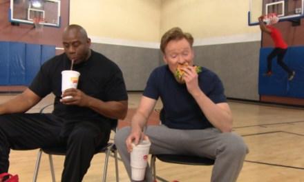 Conan O'Brien Played Horse With Magic Johnson