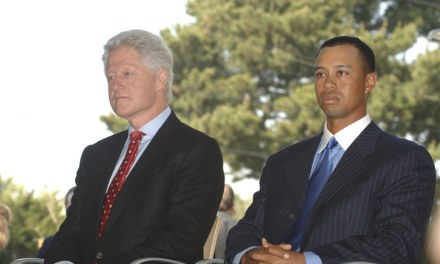 Tiger Woods & Bill Clinton's Awkward Round Controversy Brewing