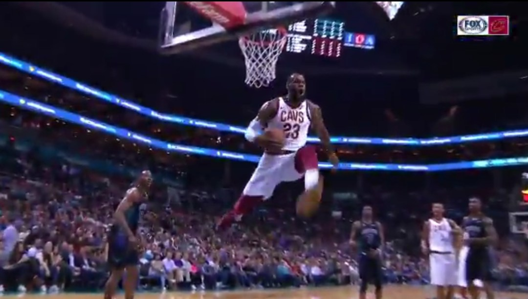 reputable site 0b8da b9e1a LeBron James Takes his Flop Game to New Heights - Sports Gossip