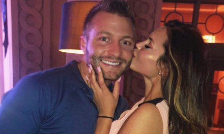 Rams Head Coach Sean McVay Preparing for the Draft with his Girlfriend in the Bahamas