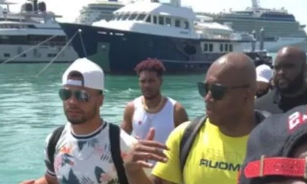 Dak Prescott Spent Saturday Partying on a Boat Full of Women