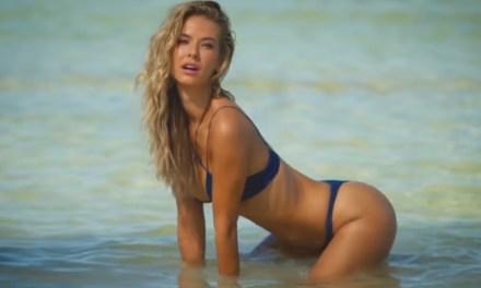 Olivia Jordan Wears Nothing But Her Bikini Bottoms   Intimates   Sports Illustrated Swimsuit