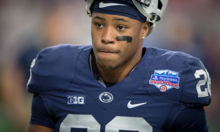 Watch Saquon Barkley Feed Alligators for ESPN