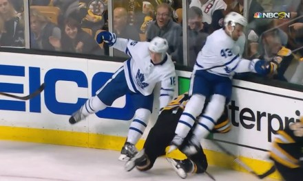 Maple Leafs' Nazem Kadri Ejected for Dirty Hit on Bruins Player