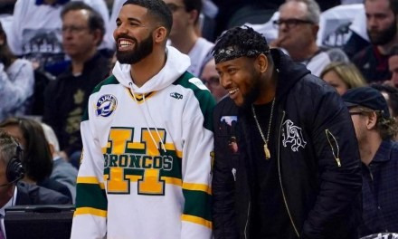 Drake Honored the Humboldt Broncos at Raptors Playoff Game