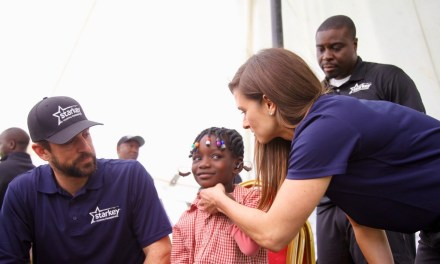 Aaron Rodgers and Danica Patrick Traveled to Africa