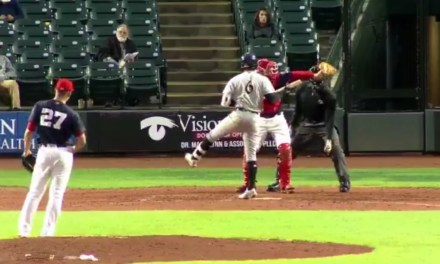 Minor League Catcher Makes an Unreal Catch on a Foul Tip