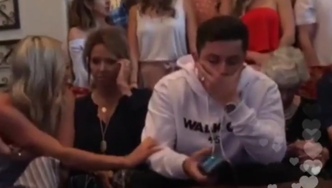 The Moment Baker Mayfield Found Out He Was Being Drafted by the Browns with the First Pick
