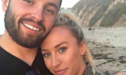 Baker Mayfield and Girlfriend Emily Wilkinson's Adventure Begins