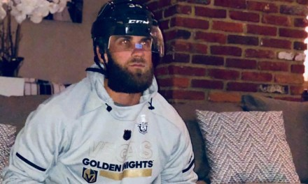 Bryce Harper Went All in for Golden Knights Playoff Game