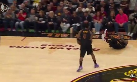 LeBron James Broke Out His Game 7 Flop