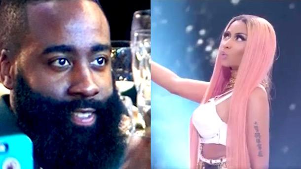 50135dbc7260 Nicki Minaj Got Them Looking Like James Harden - Sports Gossip