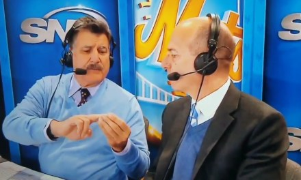 Keith Hernandez Flipped Off the Camera Telling a Story About a Shaving Injury