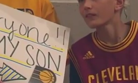 Pacers Fan Wins Worst Dad of the Year