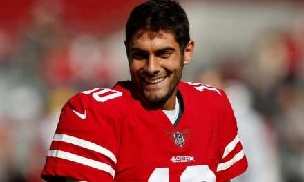 A 49ers Fan Got a Jimmy Garoppolo Tattoo You Have to See