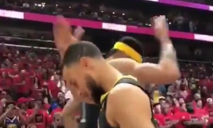 Steph Curry and JaVale McGee Unveiled the Worst Handsake of All-Time