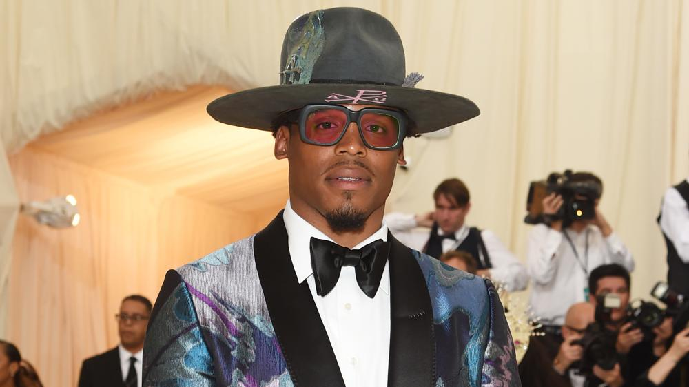 Cam Newton Wore an $7,000 Dollar Tuxedo to the Met Gala