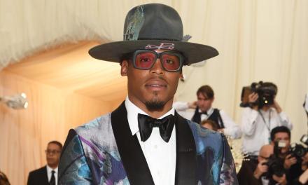 Cam Newton Wore an $7,000 Dollar Tuxedo to the Met Gala