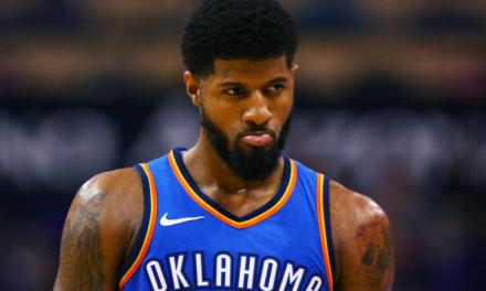 Paul George Had His Knee Scoped Today