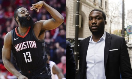 James Harden and Meek Mill Spoke 3-4 Times a Week While he Was in Prison