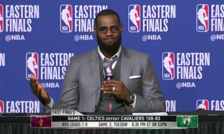 LeBron Blows Everybody's Mind Recalling an Entire 7 Point Celtic Run