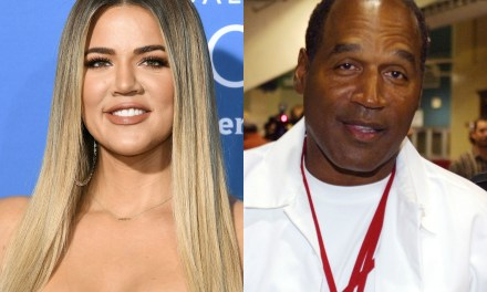 Khloe Responds to Claims OJ Simpson is True's Grandfather on Instagram