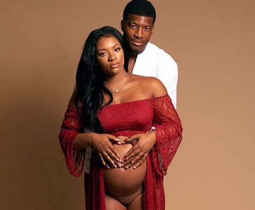 Jameis Winston Posts Racy Lingerie Maternity Pics for Mother's Day