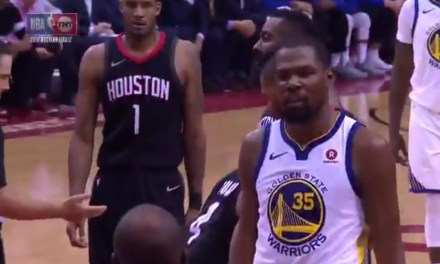 Kevin Durant and Chris Paul's Brother Exchanged Words During Game 2