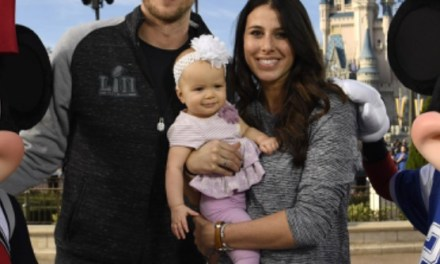 Nick Foles and his daughter, Lily, are Heading to Canton