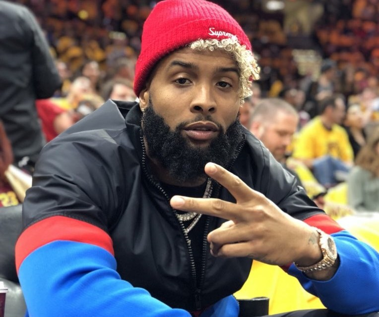Odell Beckham Jr. Spotted at the Cavs Game
