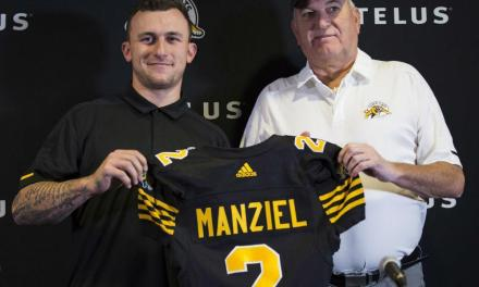 Johnny Manziel's New Coach Of The Hamilton Tiger-Cats Says He's Not Starting