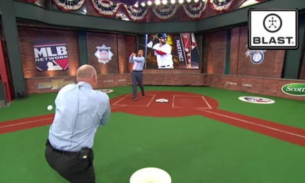 Sean Casey Drilled Billy Ripken in the Face During an MLB Network Hitting Demo