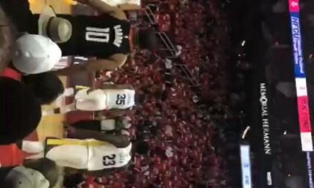 Harden's IG Girl __arabmoneyy at Rockets Game 5 Part 2