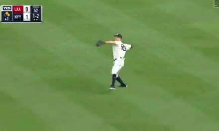 Aaron Judge Unleashes a 100.5 MPH Laser to Throw a Runner Out at Home