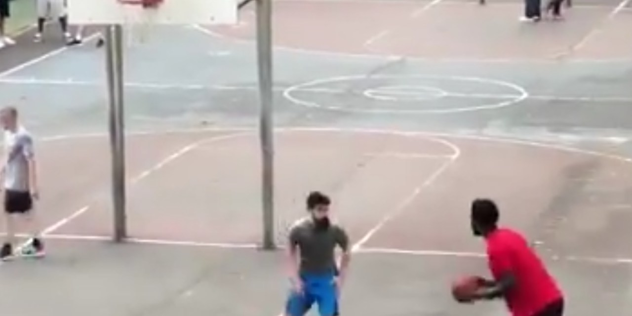Joel Embiid is Clowning Dudes on Basketball Courts in South Philly