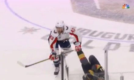 Caps Tom Wilson Caused Controversy in Game 1 with Another Questionable Hit