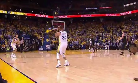 Curry buzzer beater