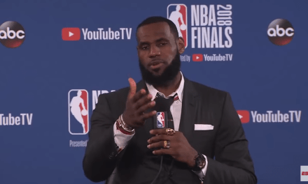 Salty LeBron Walks Out of Postgame Interview After Repeated Questions About J.R. Smith