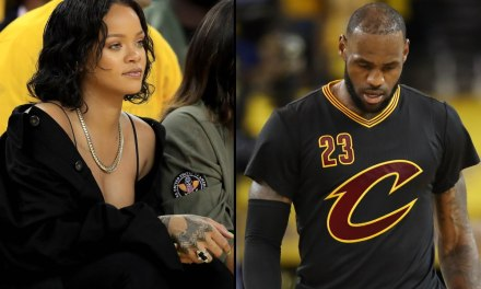 Rihanna Posts Her Thoughts on NBA Finals Game One