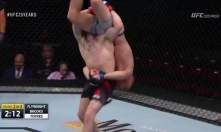 UFC Fighter Knocks Himself Out With a Terrible Slam Attempt