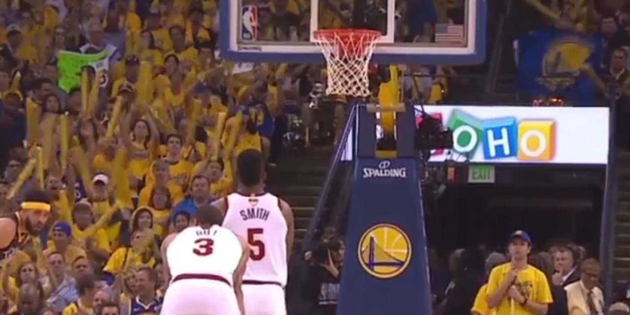 993058188693 Warriors Fans Troll J.R. Smith with a Standing Ovation and MVP Chants