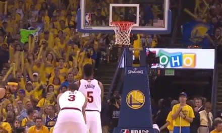 Warriors Fans Troll J.R. Smith with a Standing Ovation and MVP Chants