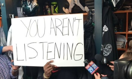 Malcolm Jenkins Answers Questions with Signs